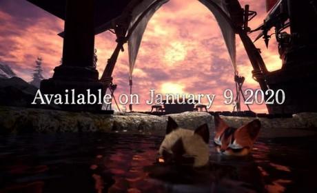 《怪物猎人世界:冰原》PC版2020年1月9日发售