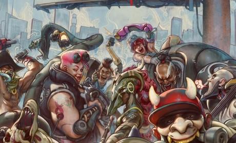 《地狱之刃》团队原创新作《嗜血边缘》确定2020 年3 月推出组队展开四对四大乱斗