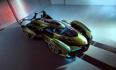 现实版雷神来了 林宝坚尼新车亮相将于《GT Sport》登场