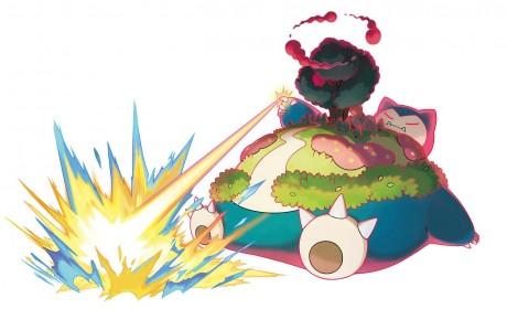 《Pokemon 剑/盾》超极巨化卡比兽限时登场