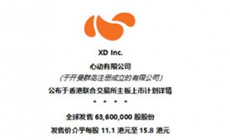 心动有限公司公布于香港联合交易所主板上市计划详情