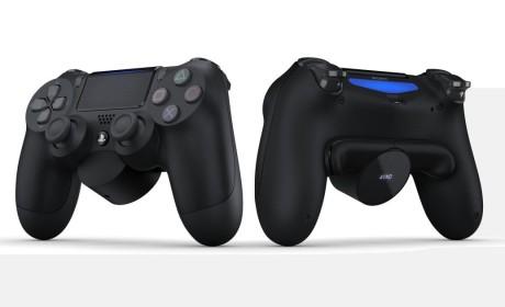 Sony官方推出PS4手柄 扩展背面按键附属装置