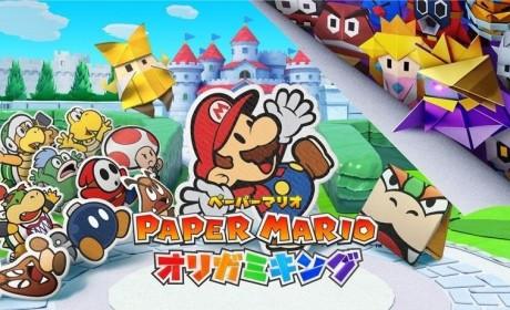 再次勇闯折纸世界 《纸片玛利欧:折纸国王》发售日决定
