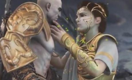 《战神》中的智慧女神雅典娜