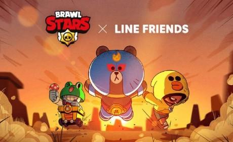 《荒野乱斗》X LINE FRIENDS联动来袭,轻社交席卷游戏圈