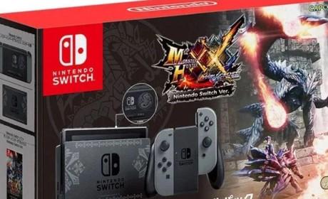 传Switch版《怪物猎人》新作将在东京电玩展前公布