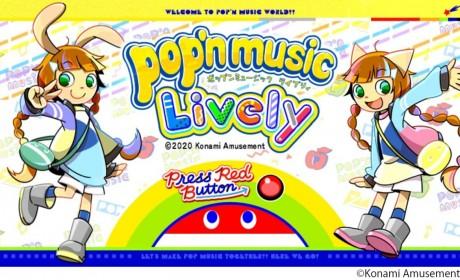 《动感音乐pop'n music》系列新作《动感音乐Lively》PC 版今日在日本上市