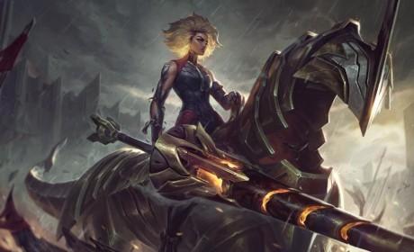 《英雄联盟》公开新英雄钢铁少女「锐儿」 冷酷强悍的坦克型辅助