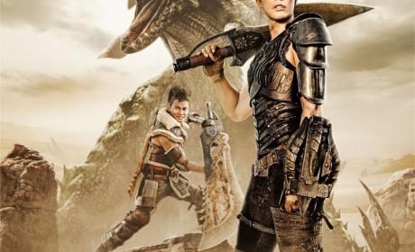 电影版《怪物猎人》公布终极版预告美军与异世界猎人携手力抗怪物