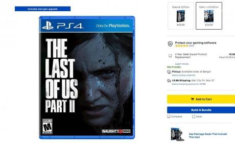 顽皮狗或将为《THE LAST OF US PART 2》推出PS5版