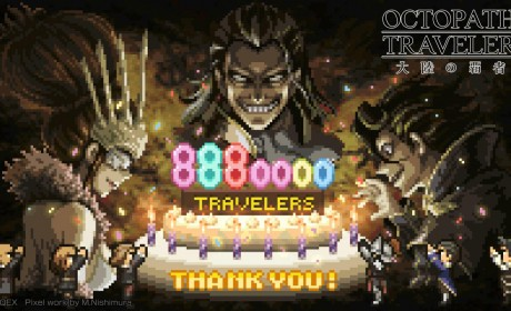 《歧路旅人:大陆的霸者》玩家数突破888 万人将角逐日本Google Play 年度受欢迎游戏