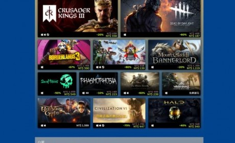 Steam 公布2020 年最高收益与最佳人气游戏榜单三强作连续五年蝉联畅销白金