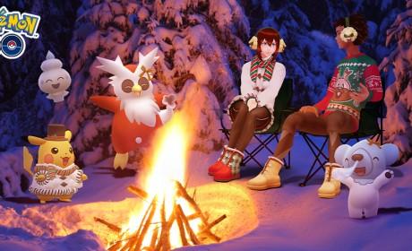 《Pokemon GO》跟着冰属性和假期装扮的宝可梦一同欢庆2020 Pokémon GO Holiday!