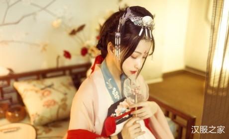 精品汉服摄影图,唐之精致华贵,齐胸襦裙有多美?