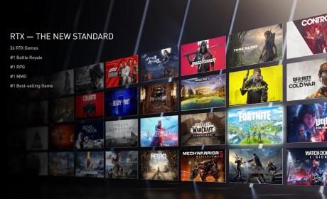 NVIDIA 公布一系列支援RTX 光线追踪、DLSS与Reflex次世代技术的游戏大作