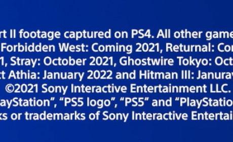 Sony CES 2021 直播发表会揭露《鬼线:东京》等多款PS5 新作游戏上市时程