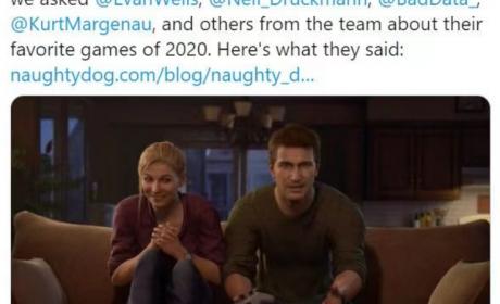 顽皮狗公司高层采访:2020年度最喜爱游戏