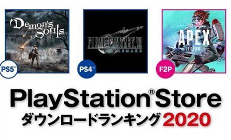 PS Store 2020年度下载游戏排行榜发表首名作品实至名归