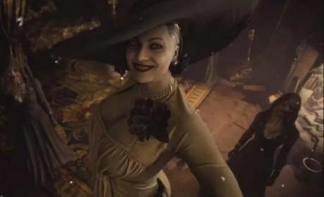 几乎神还原年轻化《生化危机8》吸血鬼贵妇Cosplay