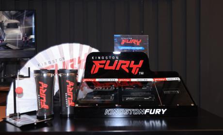 为玩家而来 Kingston FURY携新款高端内存亮相2021 ChinaJoy