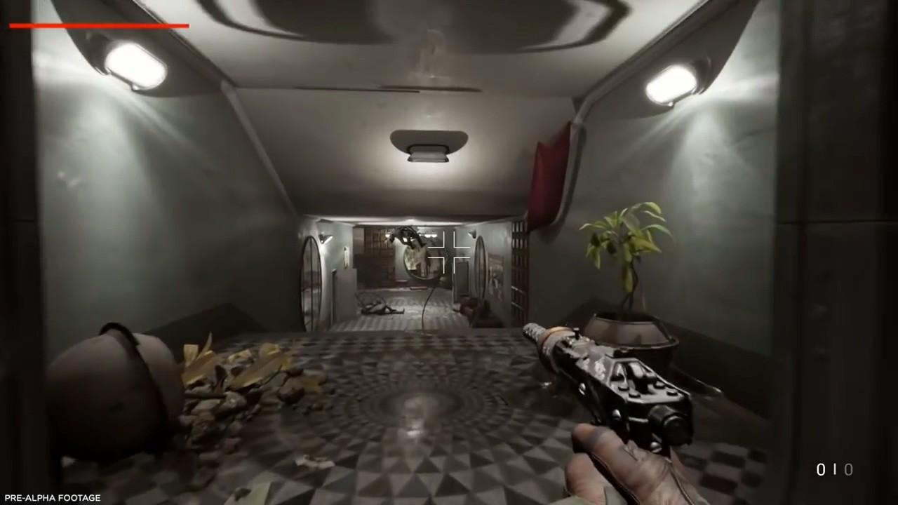 科幻恐怖FPS游戏《原子之心》22分钟演示