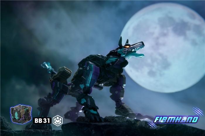BEASTBOX猛兽匣系列变形玩具铁腕狼爪-BB31