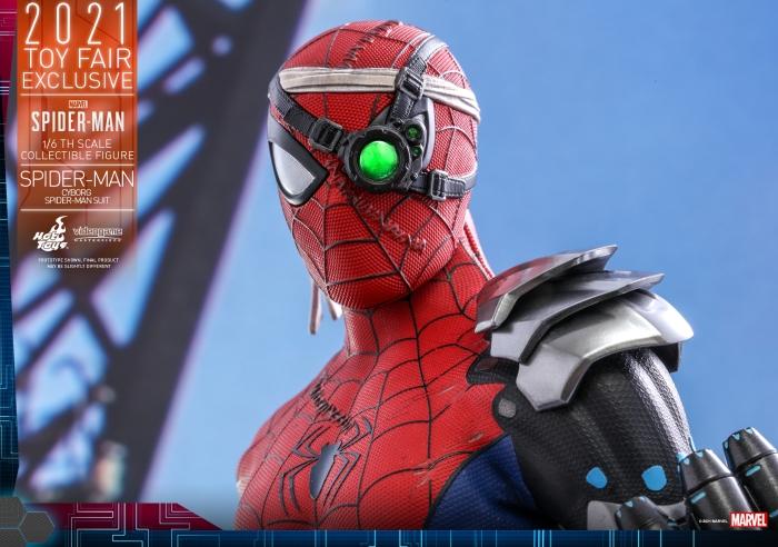 Hot Toys - Spider-Man - Cyborg Spider Man Suit_PR18